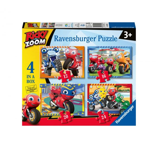 RAVENSBURGER - 4 IN A BOX - RICKY ZOOM Ravensburger1