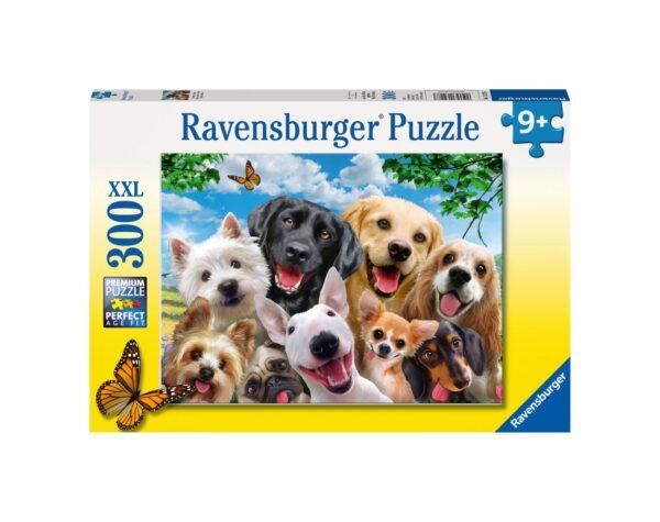 RAVENSBURGER - PUZZLE 300 PEZZI XXL - SELFIE CANINO Ravensburger1