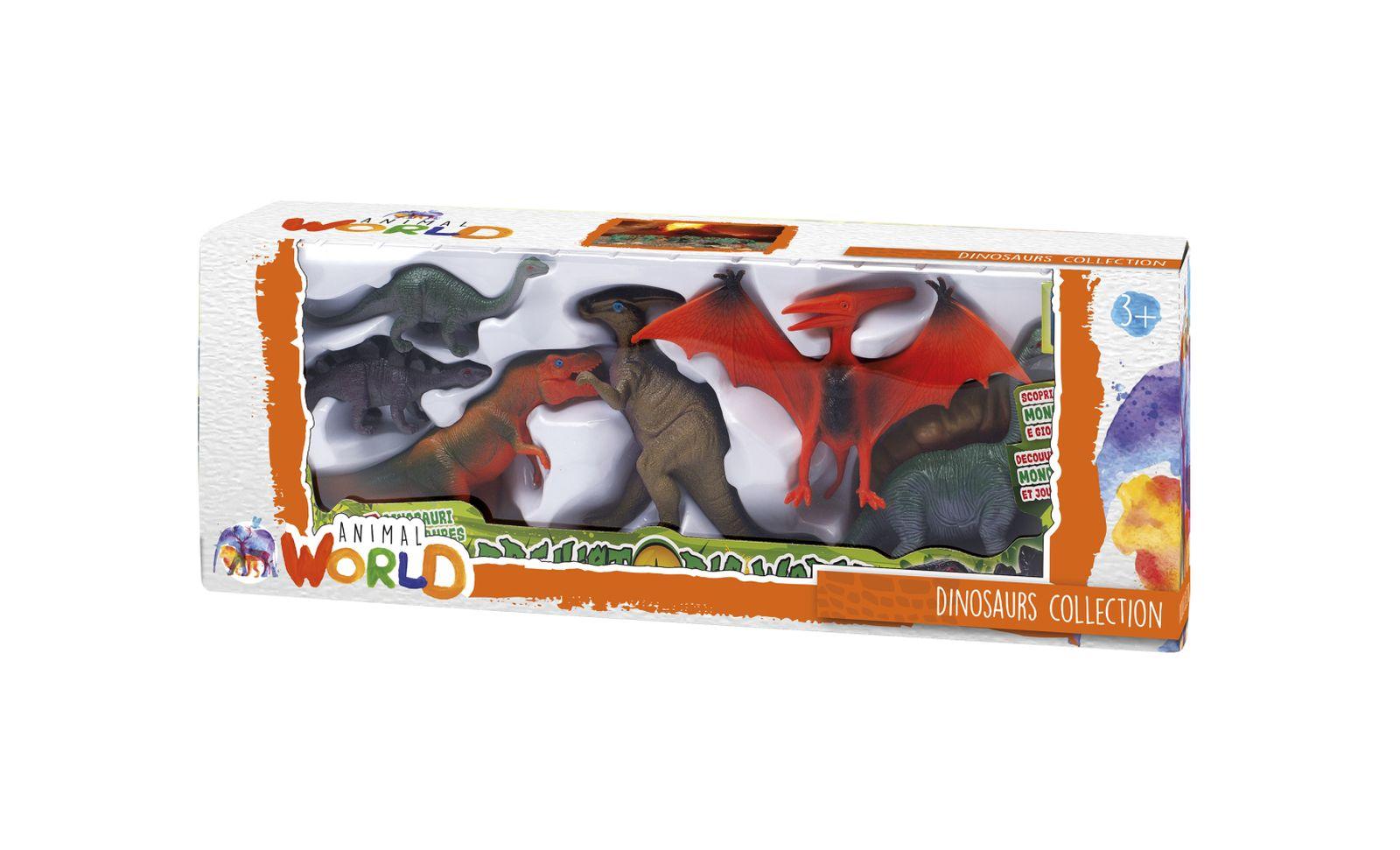Set dinosauri - ANIMAL WORLD
