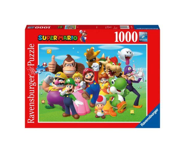 RAVENSBURGER PUZZLE 1000 PEZZI SUPER MARIO Ravensburger1, Super Mario