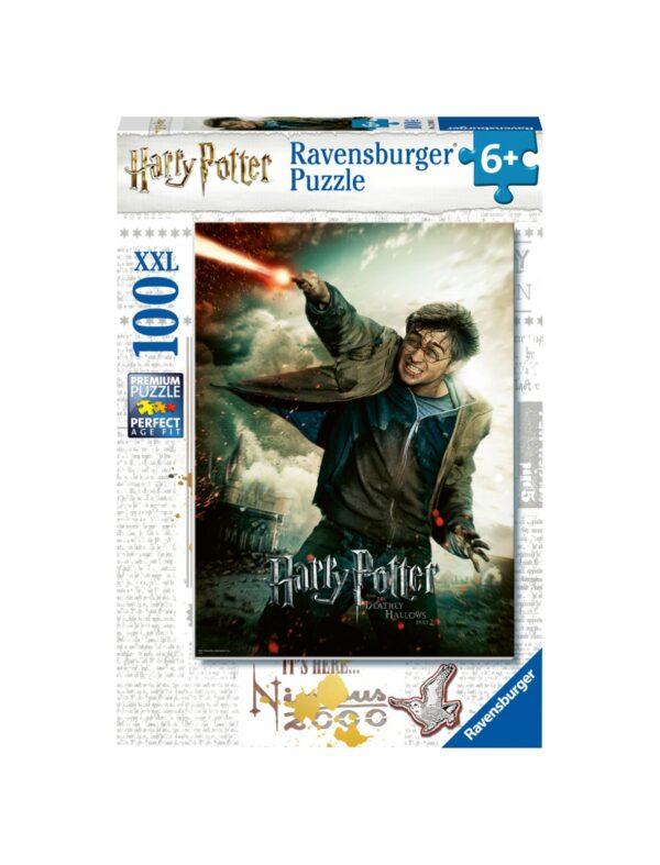 RAVENSBURGER - PUZZLE 100 PEZZI XXL - HARRY POTTER Ravensburger1