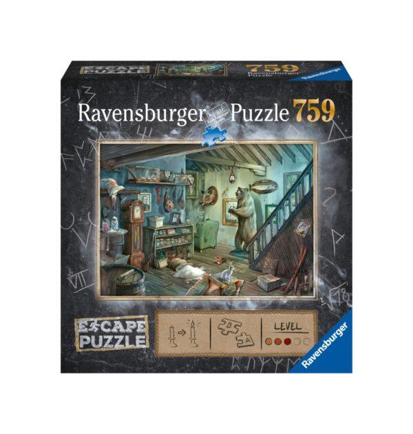 RAVENSBURGER ESCAPE THE PUZZLE - LA CANTINA DEGLI ORRORI Ravensburger1