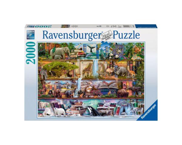 RAVENSBURGER PUZZLE 2000 PEZZI ANIMALI SELVATICI Ravensburger1