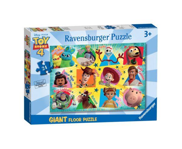 RAVENSBURGER PUZZLE 24 PEZZI GIANT TOY STORY 4 Ravensburger1, TOY STORY