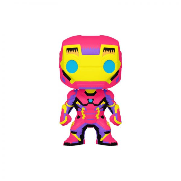 POP MARVEL: BLACK LIGHT- IRON MAN Marvel