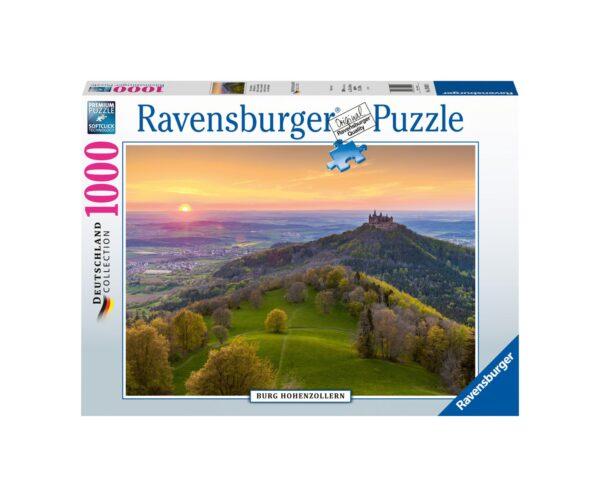 RAVENSBURGER PUZZLE 1000 PEZZI CASTELLO DI HOHENZOLLERN Ravensburger1
