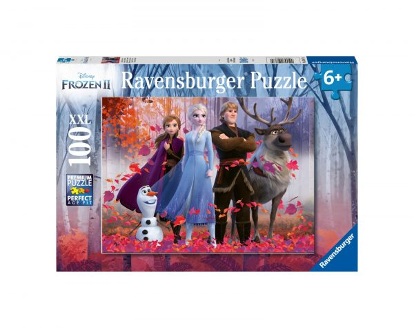RAVENSBURGER - PUZZLE 100 PEZZI XXL - FROZEN 2 Ravensburger1
