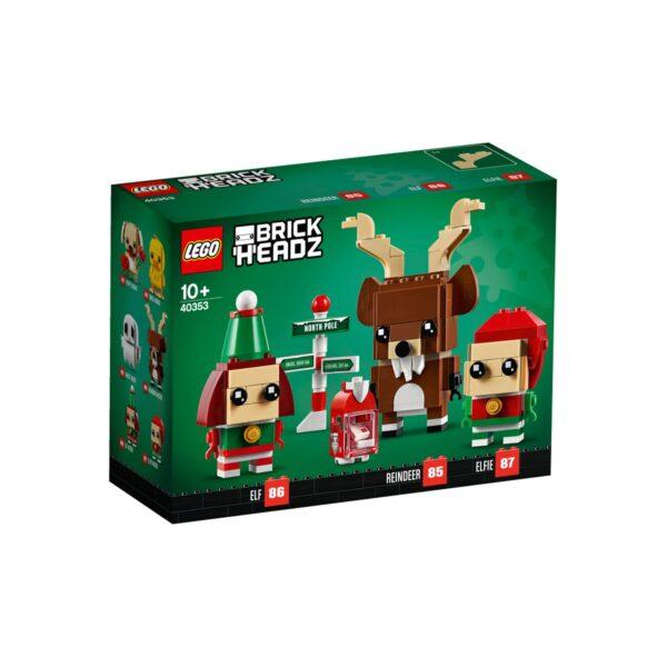 RENNA, ELFO ED ELFA LEGO BRICKHEADZ