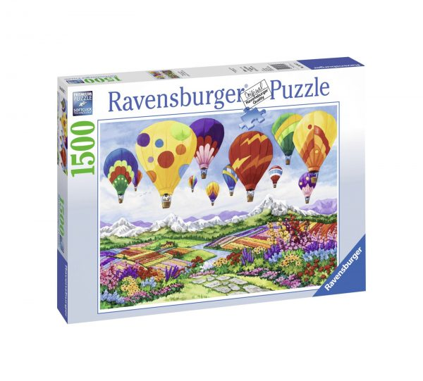 RAVENSBURGER PUZZLE 1500 PEZZI SPRING IN THE AIR    Ravensburger1