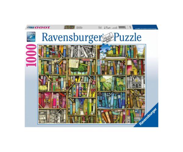 RAVENSBURGER PUZZLE 1000 PEZZI LA LIBRERIA BIZZARRA Ravensburger1