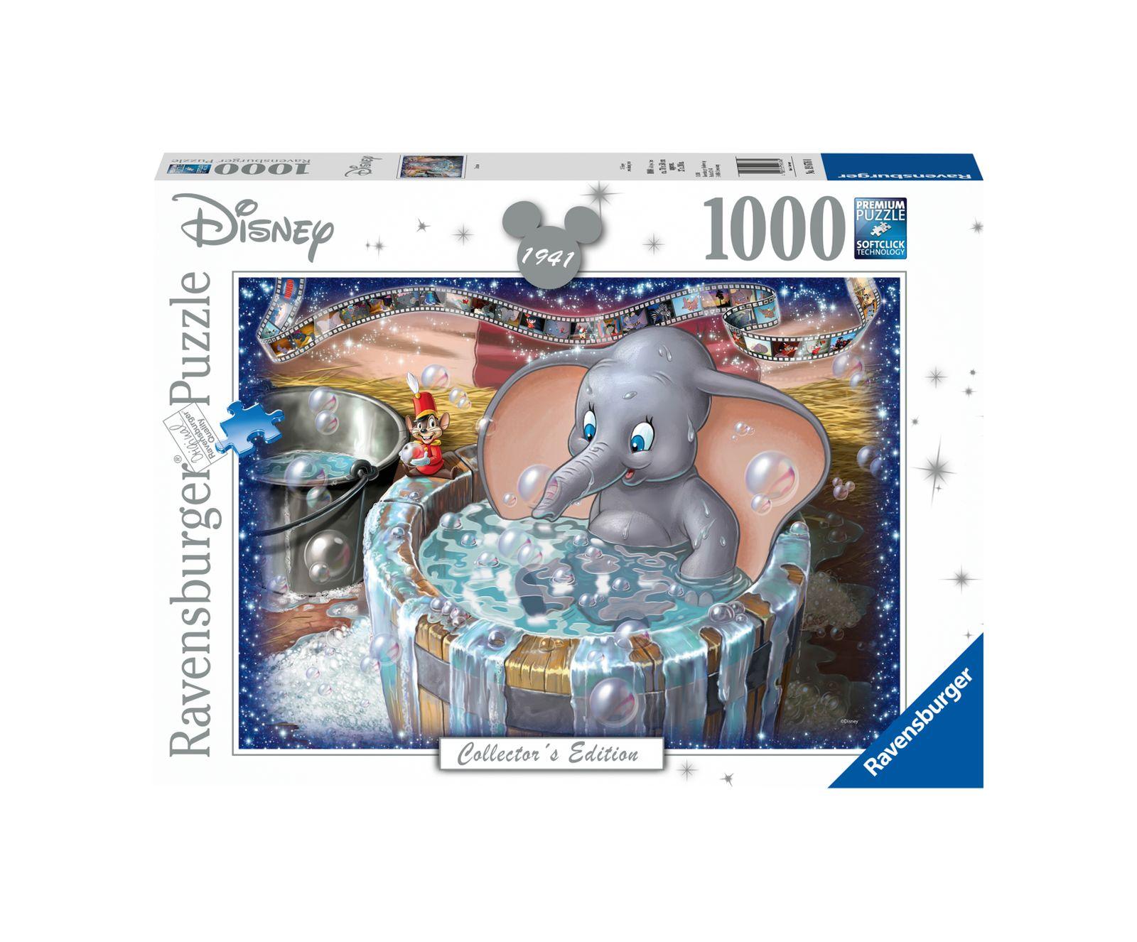 Ravensburger puzzle 1000 pezzi disney dumbo - Ravensburger1