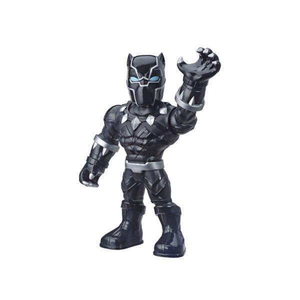 MARVEL SUPER HERO ADVENTURES - BLACK PANTHER (PLAYSKOOL HEROES SUPER HERO ADVENTURES MEGA MIGHTIES, ACTION FIGURE DA 25 CM) MARVEL SUPER HERO ADVENTURE