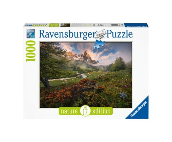 RAVENSBURGER PUZZLE 1000 PEZZI NATURE EDITION - ELEFANTE DEL MASAI MARA Ravensburger1