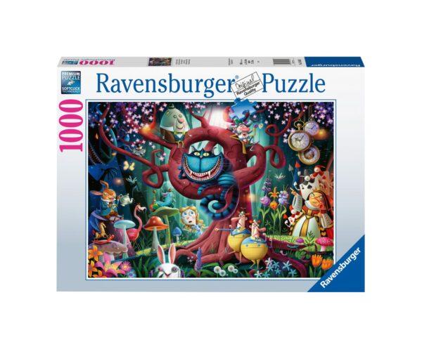 RAVENSBURGER PUZZLE 1000 PEZZI TUTTI SONO PAZZI QUI Ravensburger1