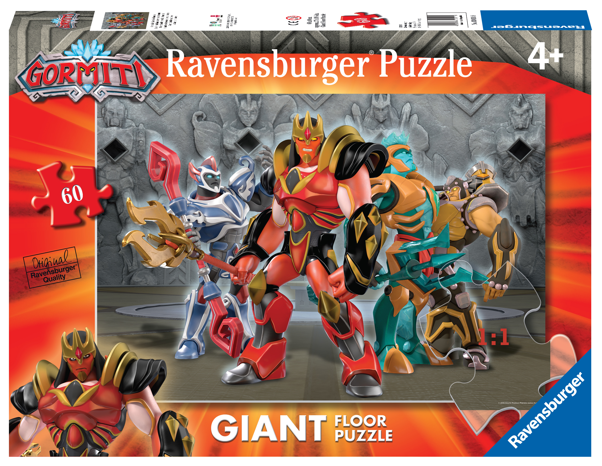 Ravensburger puzzle 60 pezzi giant gormiti - Ravensburger1