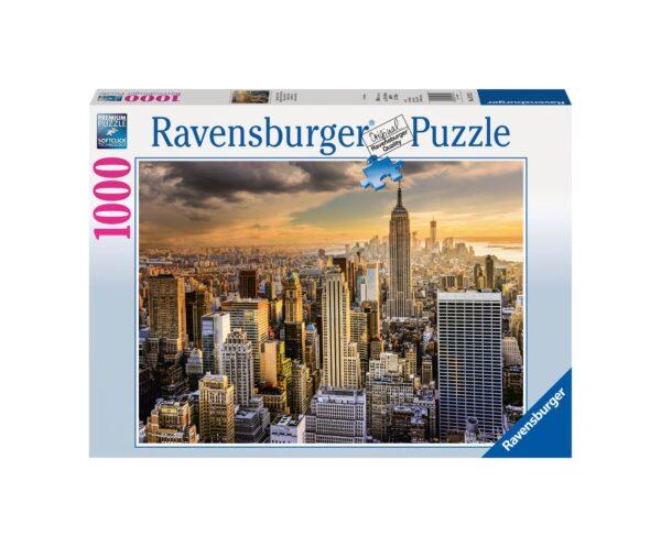 RAVENSBURGER PUZZLE 1000 PEZZI MAESTOSA NEW YORK Ravensburger1