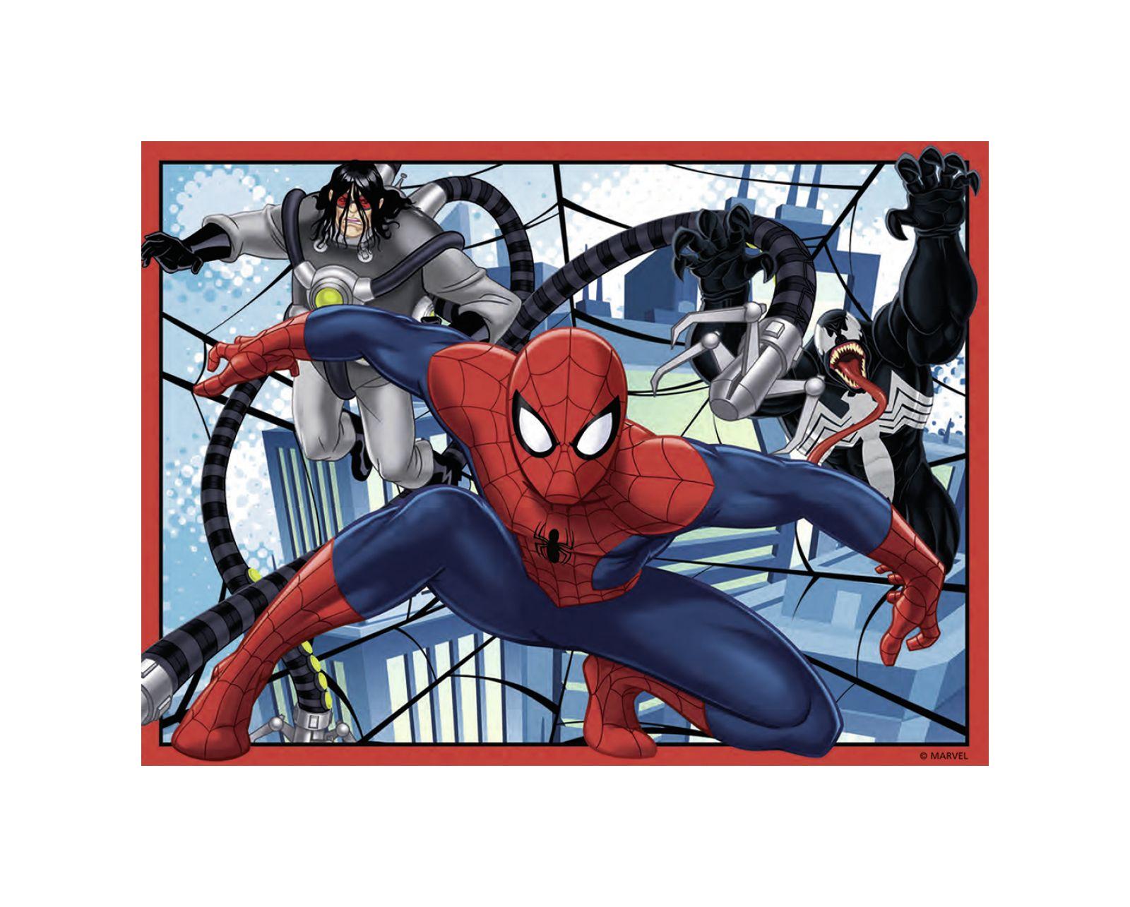 Ravensburger - puzzle 4 in 1 – ultimate spiderman - Ravensburger1