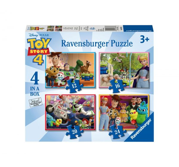 RAVENSBURGER - 4 IN A BOX - TOY STORY Ravensburger1, TOY STORY