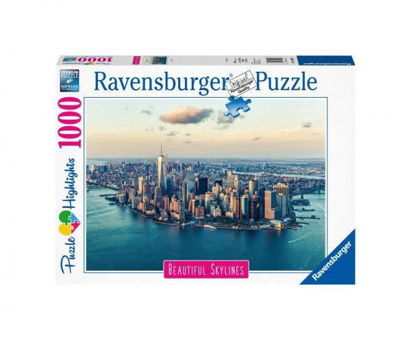 RAVENSBURGER PUZZLE 1000 PEZZI NEW YORK Ravensburger1