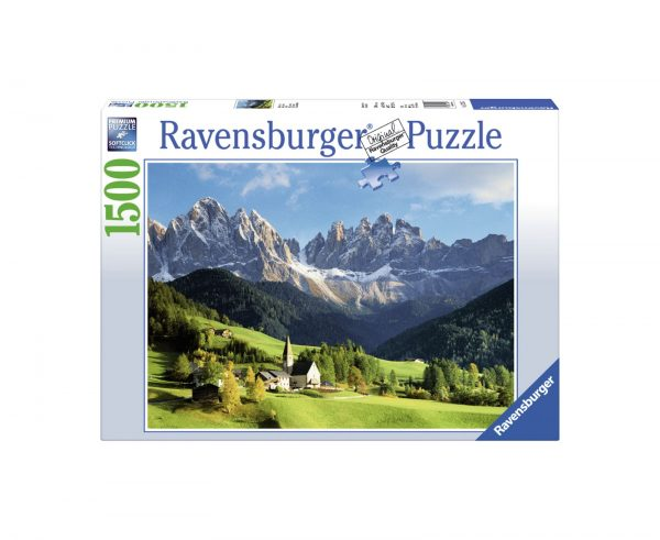 RAVENSBURGER PUZZLE 1500 PEZZI VEDUTA DELLE DOLOMITI Ravensburger1