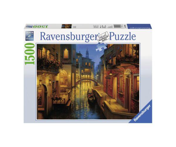 RAVENSBURGER PUZZLE 1500 PEZZI CANALE VENEZIANO Ravensburger1