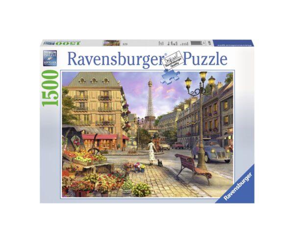 RAVENSBURGER PUZZLE 1500 PEZZI VINTAGE PARIS Ravensburger1