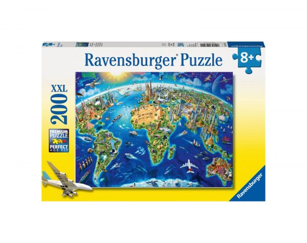 RAVENSBURGER - PUZZLE 200 PEZZI XXL - VISTA DALL'ALTO Ravensburger1