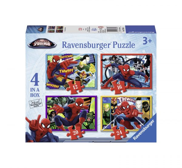 RAVENSBURGER - PUZZLE 4 IN 1 – ULTIMATE SPIDERMAN Ravensburger1