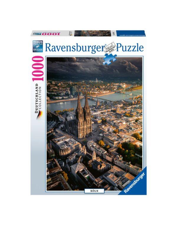 RAVENSBURGER PUZZLE 1000 PEZZI - CATTEDRALE DI COLONIA Ravensburger1