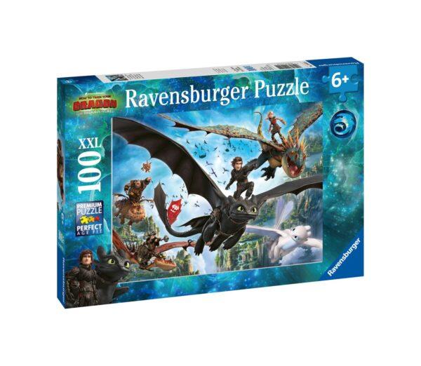Ravensburger1  RAVENSBURGER - PUZZLE 100 PEZZI XXL - DRAGONS A
