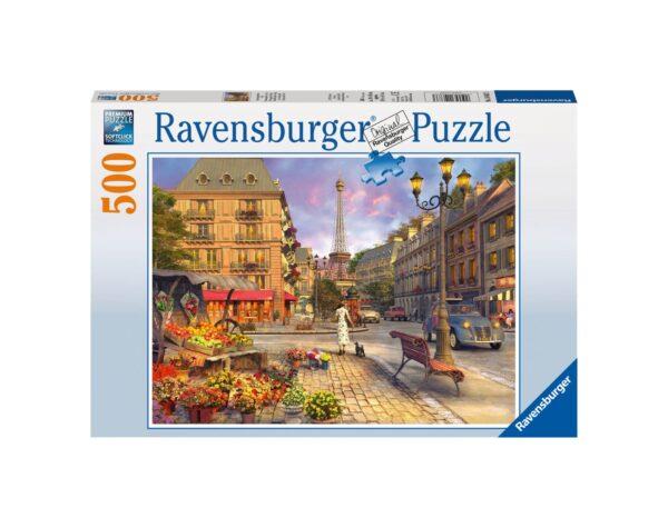 RAVENSBURGER - PUZZLE 500 PEZZI - PASSEGGIATA SERALE Ravensburger1
