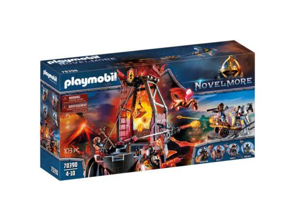 MINIERA DI LAVA DI BURNHAM Playmobil