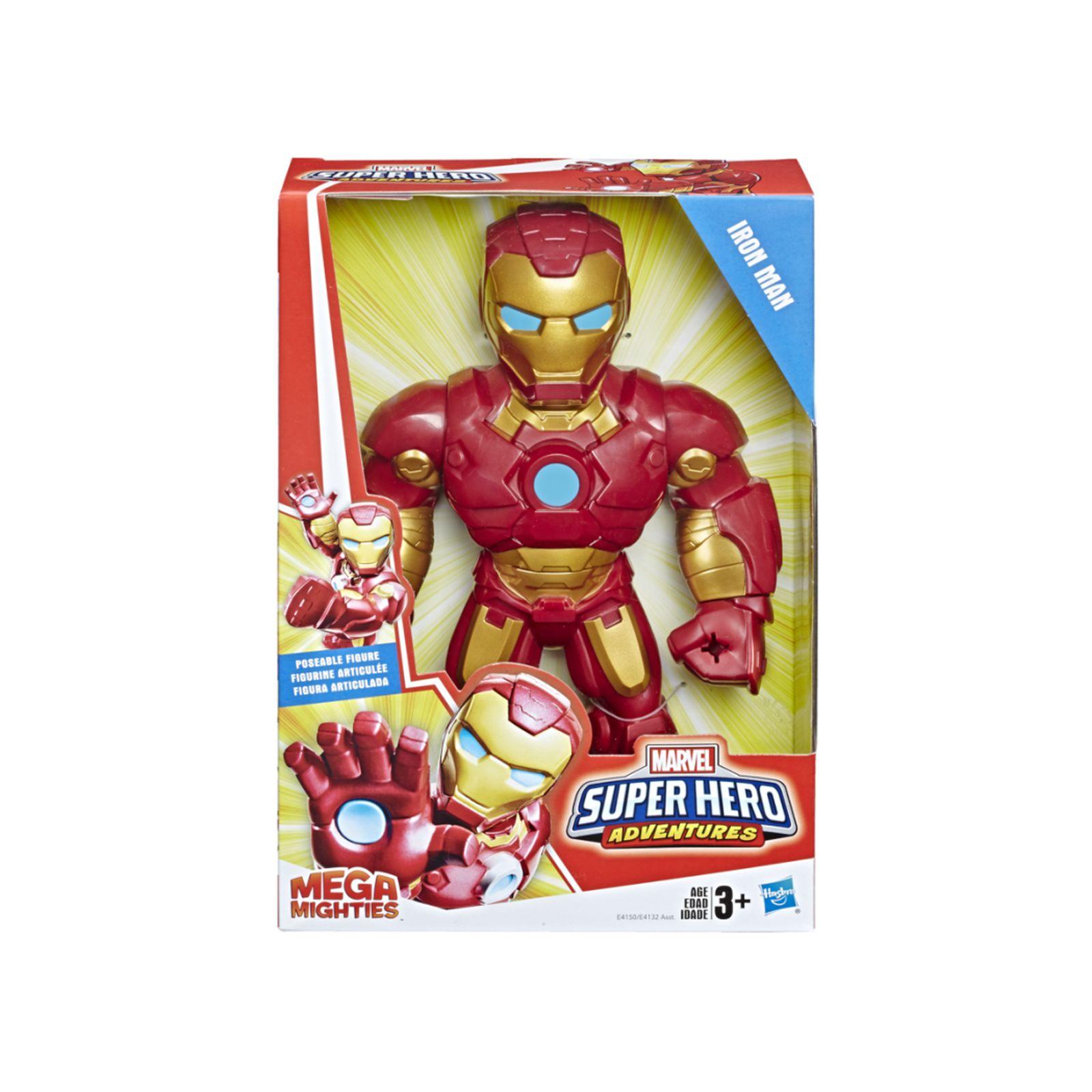 Marvel super hero adventures - iron man mega mighties (action figure da 25 cm) - MARVEL SUPER HERO ADVENTURE