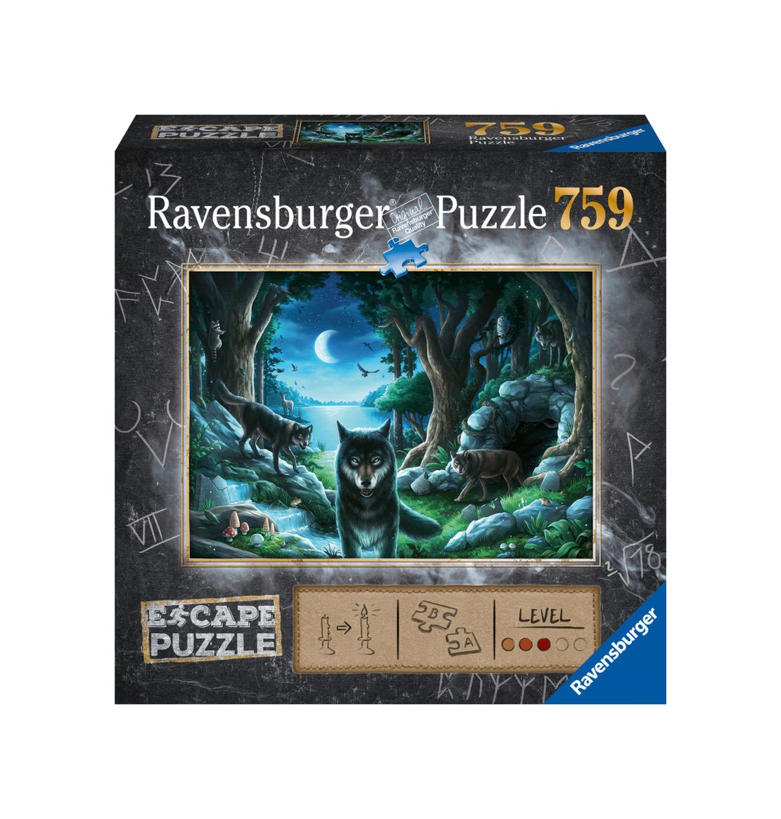 Ravensburger escape the puzzle - il branco di lupi - Ravensburger1