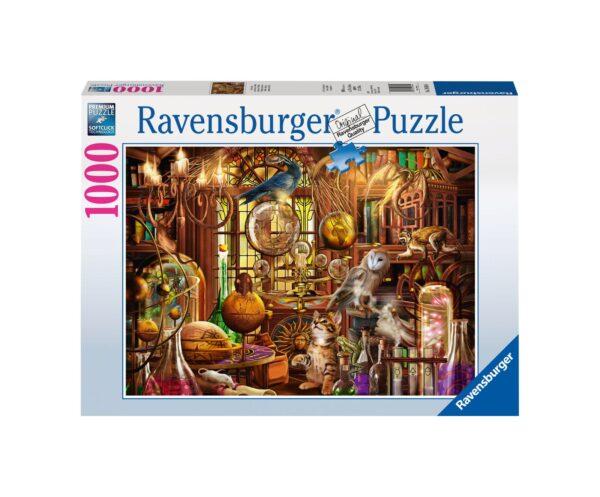RAVENSBURGER PUZZLE 1000 PEZZI LABORATORIO DI MERLINO Ravensburger1