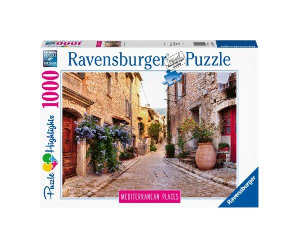 RAVENSBURGER PUZZLE 1000 PEZZI MEDITERRANEAN FRANCE Ravensburger1
