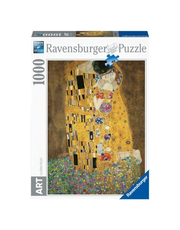 RAVENSBURGER PUZZLE 1000 PEZZI ARTE - BACIO DI KLIMT Ravensburger1