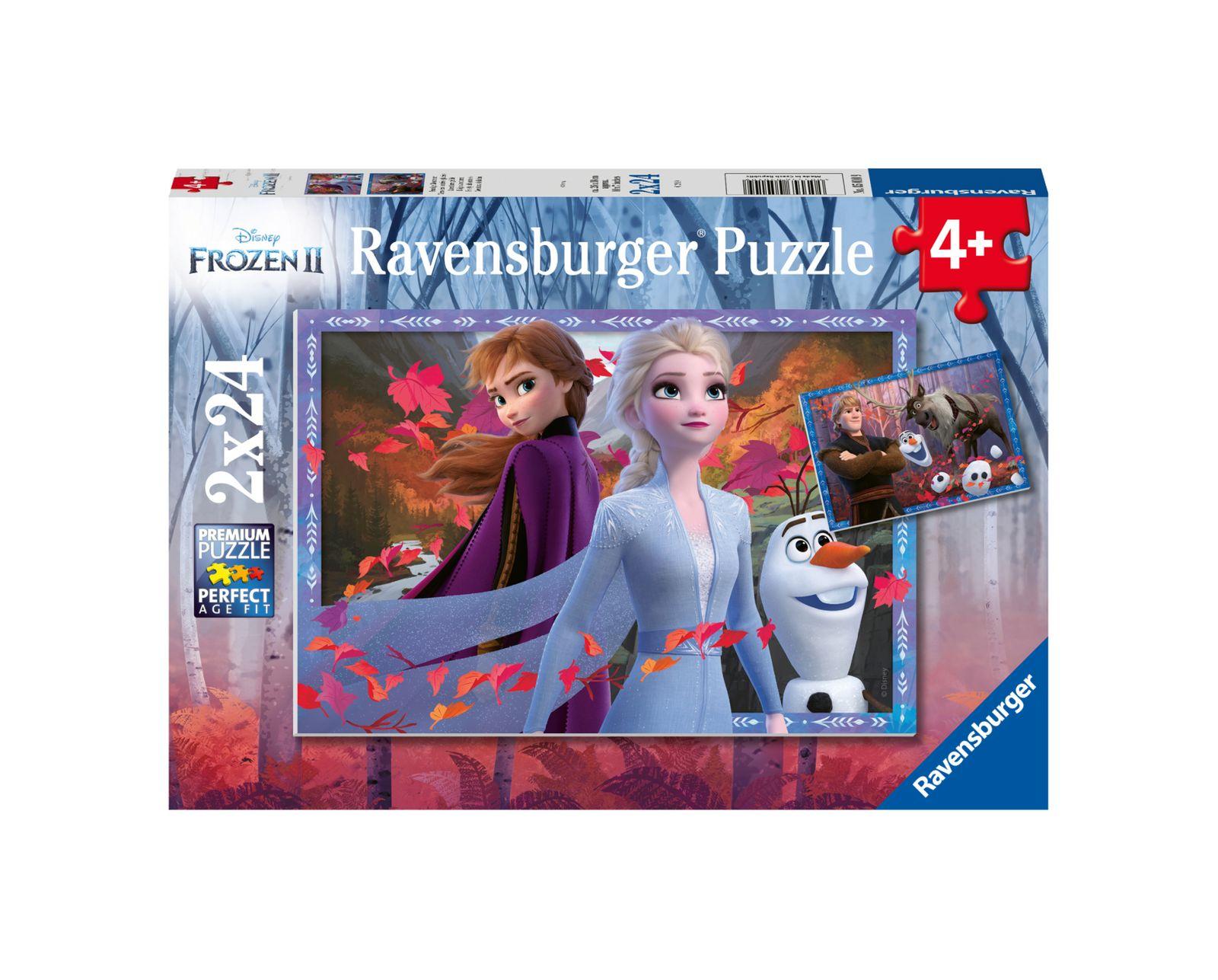 Ravensburger - puzzle 2x24 pezzi - frozen - Ravensburger1