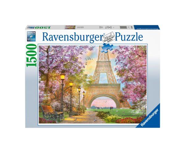 RAVENSBURGER PUZZLE 1500 PEZZI AMORE A PARIGI Ravensburger1