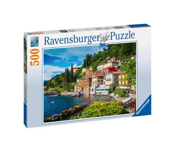 RAVENSBURGER - PUZZLE 500 PEZZI - LAGO DI COMO, ITALIA    Ravensburger1