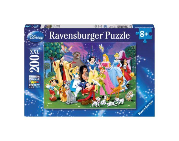 RAVENSBURGER - PUZZLE 200 PEZZI XXL - I MIEI PREFERITI DISNEY Ravensburger1
