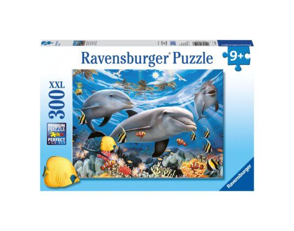 RAVENSBURGER - PUZZLE 300 PEZZI XXL - DELFINI Ravensburger1