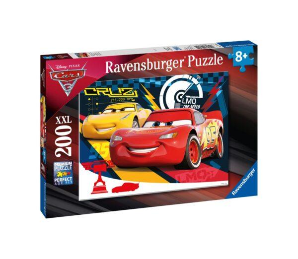Ravensburger1  RAVENSBURGER - PUZZLE 200 PEZZI XXL - CARS 3