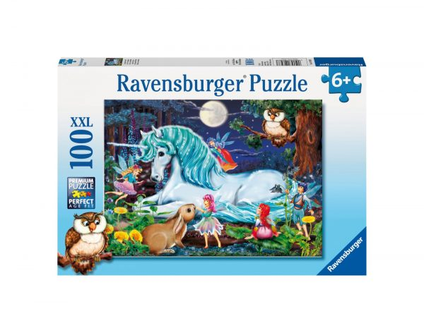 RAVENSBURGER - PUZZLE 100 PEZZI XXL - FORESTA INCANTATA Ravensburger1