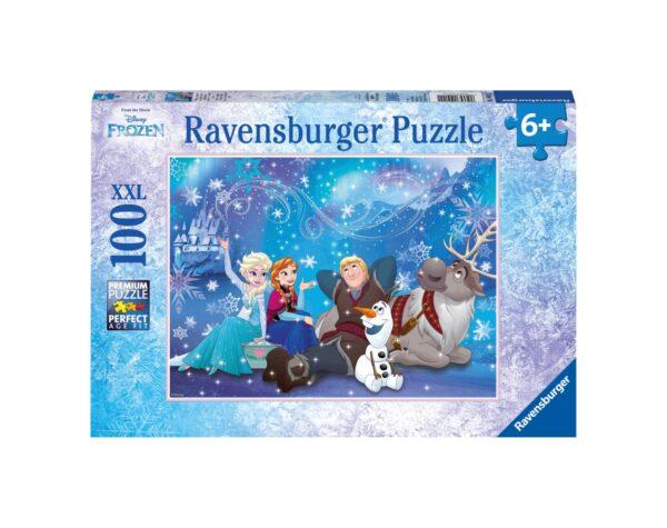 RAVENSBURGER - PUZZLE 100 PEZZI XXL - FROZEN C Ravensburger1