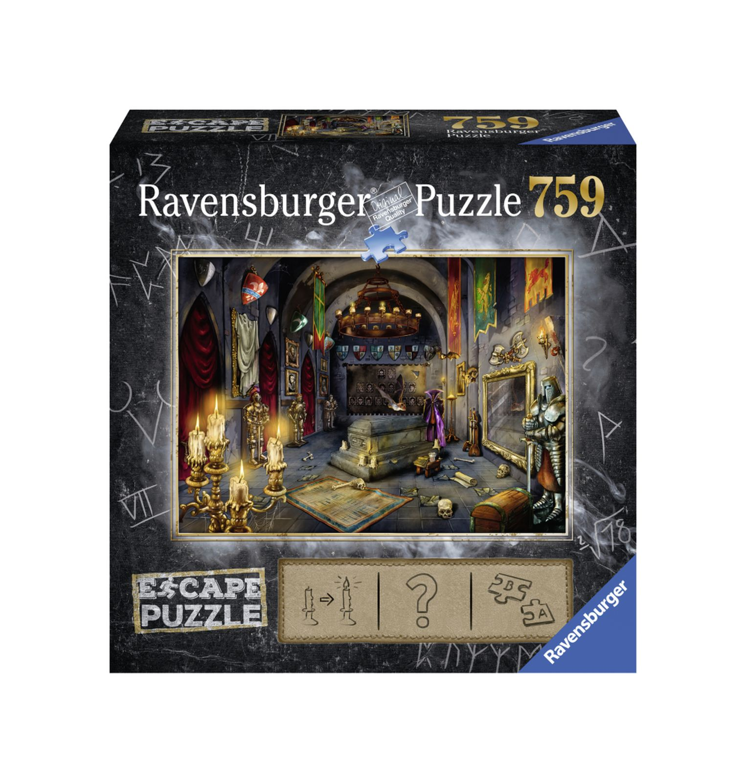 Ravensburger escape the puzzle - vampiro - Ravensburger1