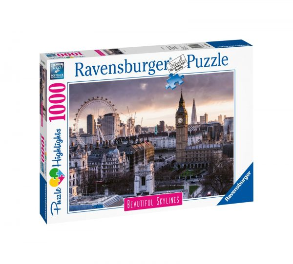 RAVENSBURGER PUZZLE 1000 PEZZI LONDON    Ravensburger1