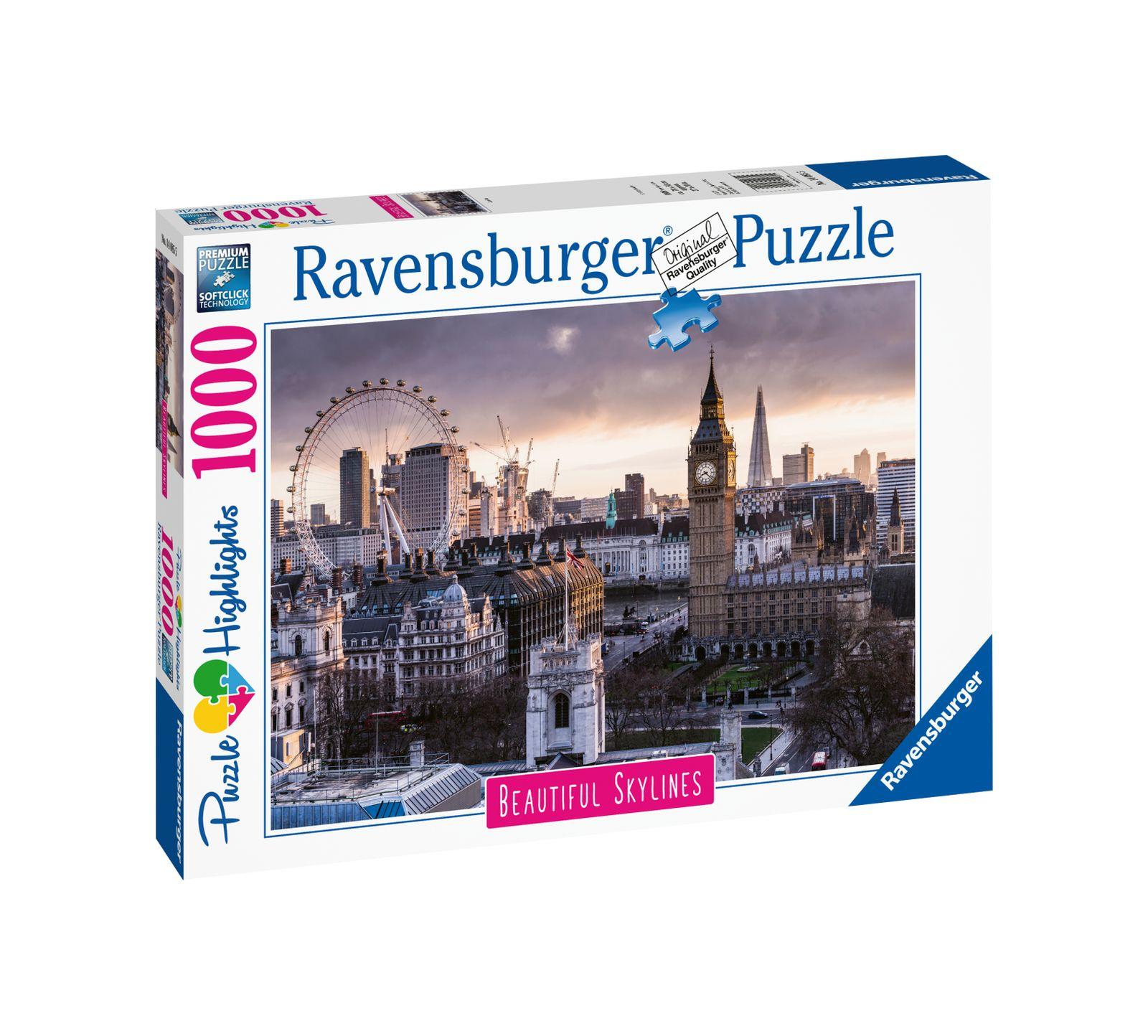 Ravensburger puzzle 1000 pezzi london - Ravensburger1