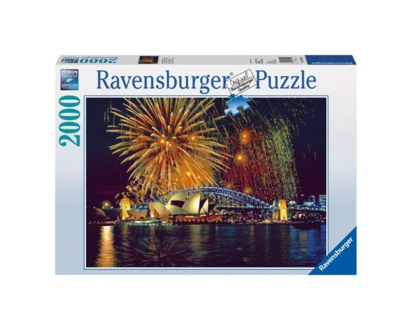RAVENSBURGER PUZZLE 2000 PEZZI FUOCHI D'ARTIFICIO A SIDNEY Ravensburger1
