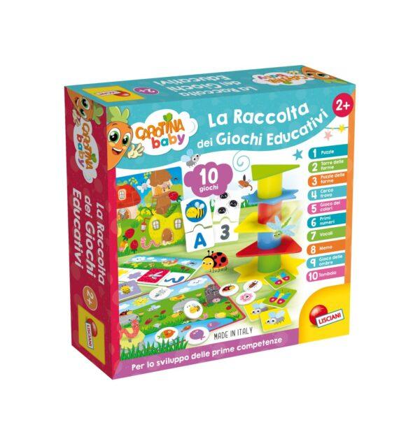 LISCIANI - CAROTINA BABY RACCOLTA GIOCHI EDUCATIVI